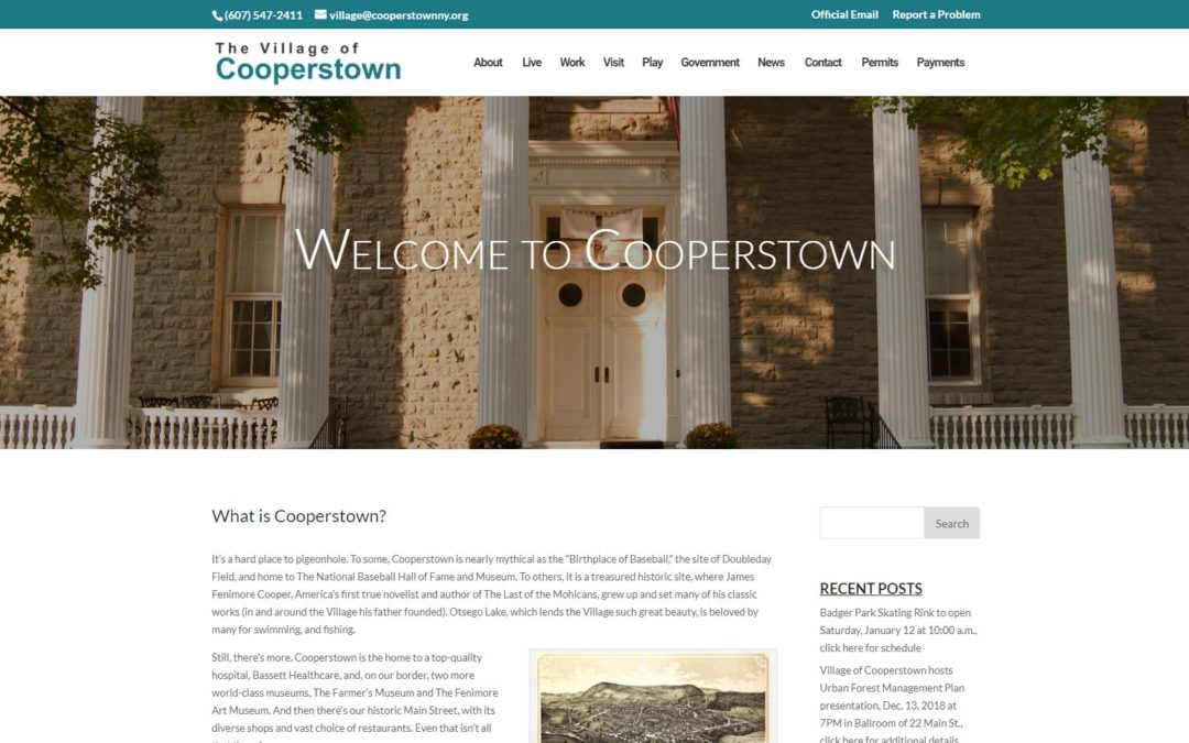 The Village of Cooperstown